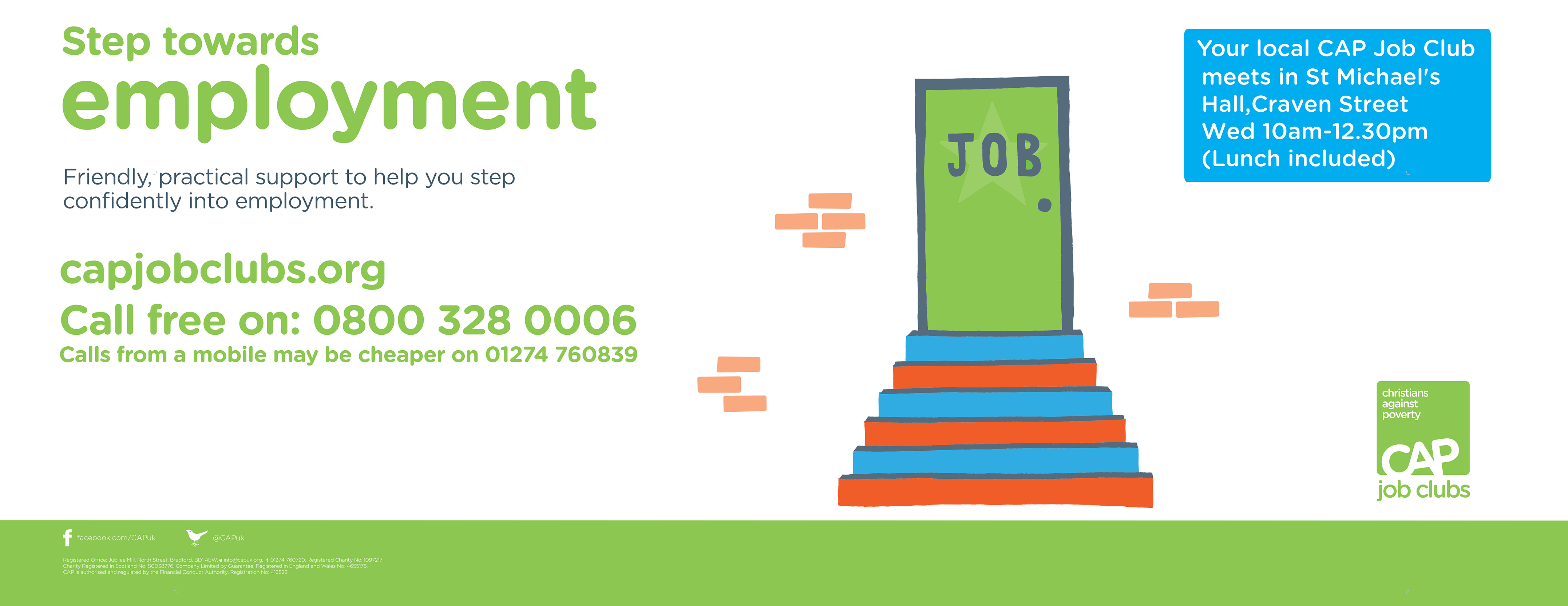 need help finding a job, drop in to our job club | st michaels church